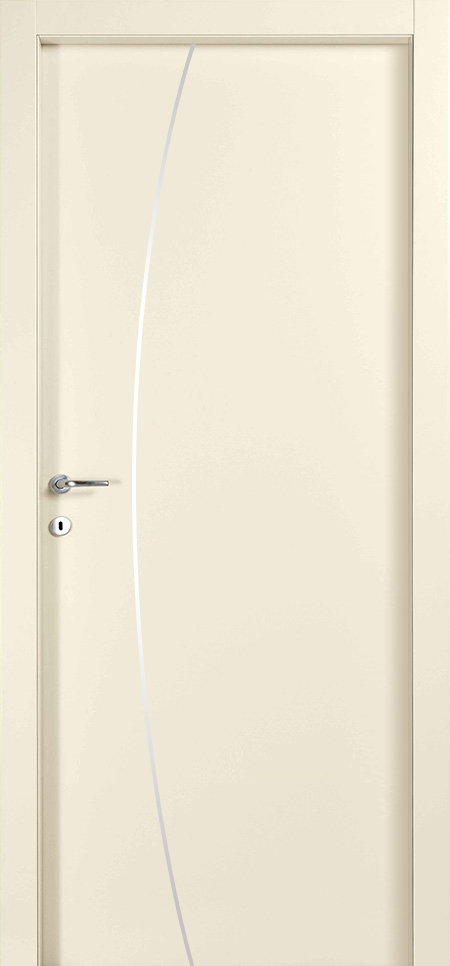 דלת פנים איטלקית בציפוי למינטו ( cpl), עמידה למים ולשריטות. במילוי 100% פלקסבורד לבידוד אקוסטי ותרמי מירביים. נעילה שקטה AGB. 3 צירים ,משקופים והלבשות רחבות מעץ מלא. כולל ידית מעוצבת לבחירה.