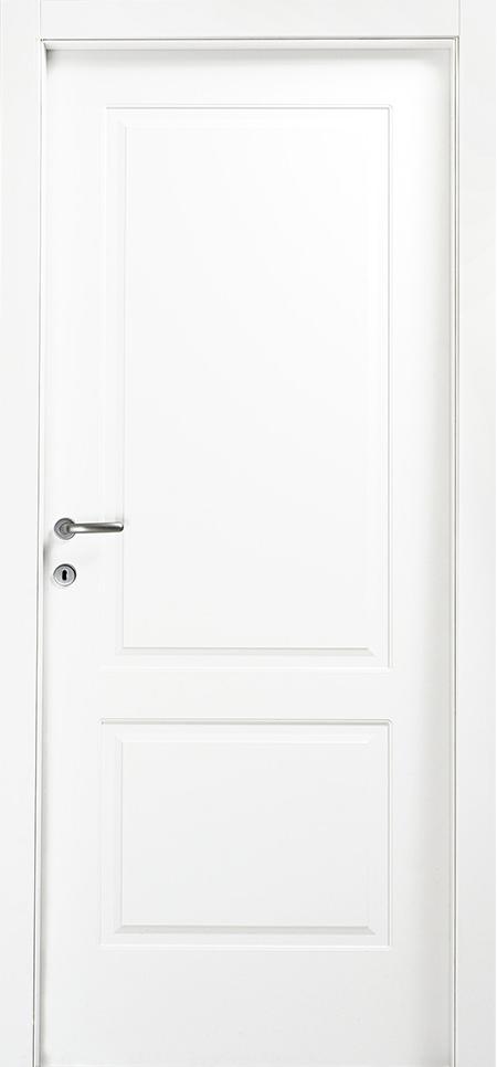 דלת פנים איטלקית בצביעת אפוקסי 7 שכבות בשיטת UV. וכן שיכבה אחרונה שקופה נגד שריטות. דלת פנים איטלקית בציפוי למינטו ( cpl), עמידה למים ולשריטות. במילוי 100% פלקסבורד לבידוד אקוסטי ותרמי מירביים. נעילה שקטה AGB. 3 צירים, משקופים והלבשות רחבות מעץ מלא. כולל ידית מעוצבת לבחירה.   הדלת מגיעה עם צירים נסתרים והדלת היא שטוף קנט.