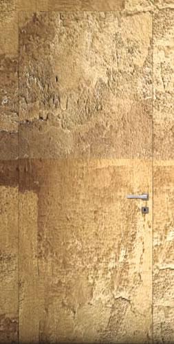דלת במישור הקיר, נסתרת עם משקוף אלומיניום, מתאימה לקירות גבס או לקירות בנויים בלוקים