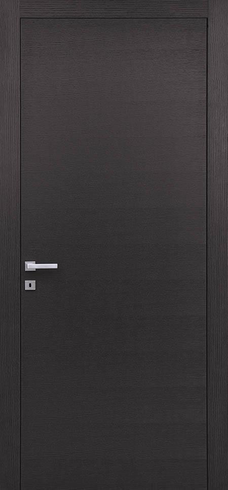 דלתWALL בקוו אפס חיצוני עם הלבשות בקוו אפס לדלת. דלת במישור הקיר
