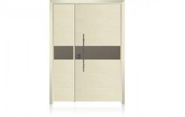 דלת כניסה מעוצבת בסיגנון מודרני 1013