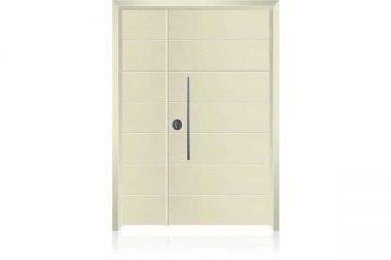 דלת כניסה מעוצבת בסיגנון מודרני 1027