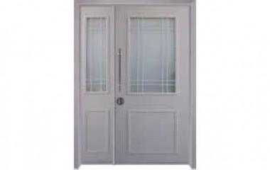 דלת כניסה מעוצבת בסגנון נפחות 8007