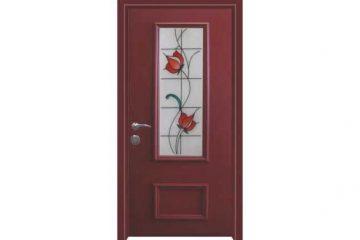 דלת כניסה מעוצבת מסדרת ויטראז' 5502