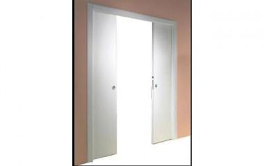 דלת הזזה כפולה לכיס