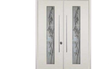 דלת כניסה מעוצבת מסדרת ויטראז 5500