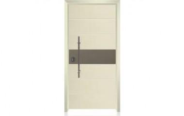 דלת כניסה מעוצבת בסיגנון מודרני 1009