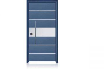 1003 דלת כניסה מעוצבת בסיגנון מודרני