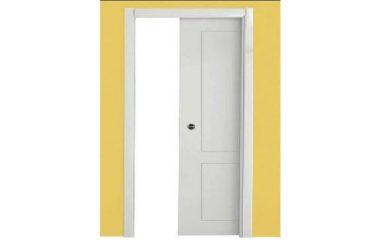 דלת הזזה לכיס 2 פאנל