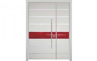 דלת כניסה מעוצבת בסיגנון מודרני 1029