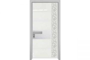 דלת כניסה מעוצבת מסדרת יהלום 1054