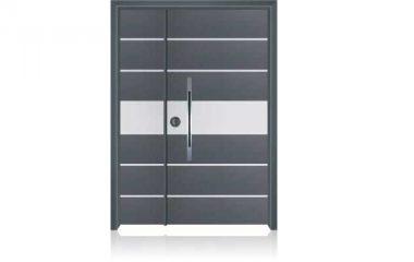 1006 דלת כניסה מעוצבת בסיגנון מודרני