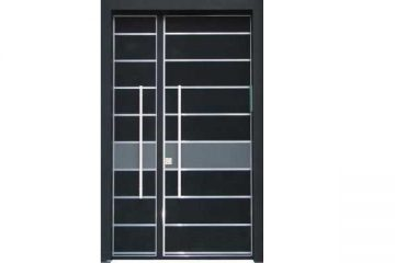 דלת כניסה מעוצבת בסיגנון מודרני 1034
