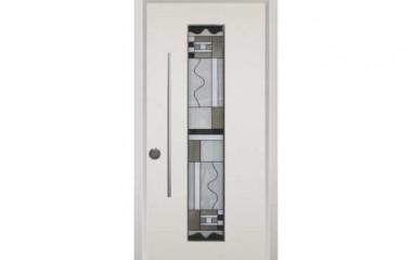 דלת כניסה מעוצבת מסדרת ויטראז' 5504