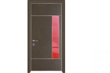 דלת כניסה מעוצבת 1091סדרת הייטק יהלום