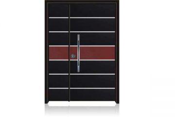 דלת כניסה מעוצבת בסיגנון מודרני 1028