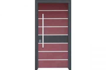 דלת כניסה מעוצבת בסיגנון מודרני 1039