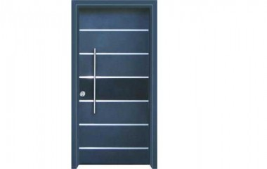 דלת כניסה מעוצבת בסיגנון מודרני 1030