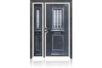 דלת כניסה מעוצבת מסדרת עדן 9006