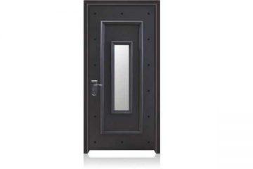 דלת כניסה מעוצבת בסגנון נפחות 8002