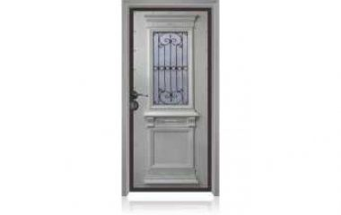 דלת כניסה מעוצבת מסדרת עדן 9001