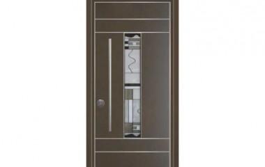 דלת כניסה מעוצבת מסדרת ויטראז' 5506