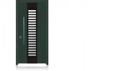 דלת כניסה מעוצבת 1502