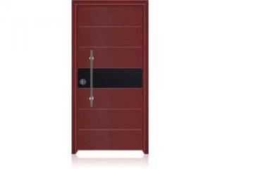 דלת כניסה מעוצבת בסיגנון מודרני 1008