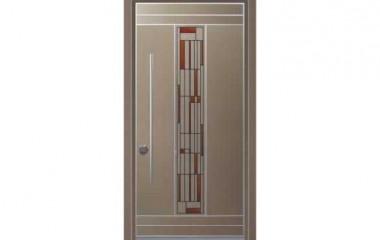 דלת כניסה מעוצבת מסדרת ויטראז' 5503
