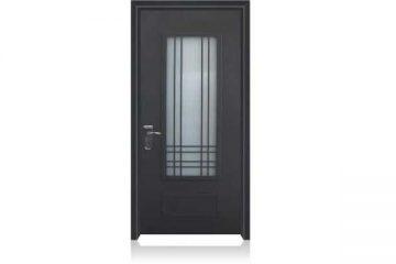 דלת כניסה מעוצבת בסגנון נפחות 8004