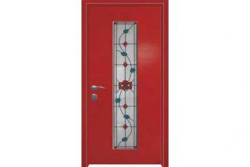 דלת כניסה מעוצבת מסדרת ויטראז׳ 5501