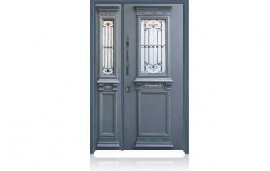 6006 דלת כניסה מעוצבת בסיגנון יווני