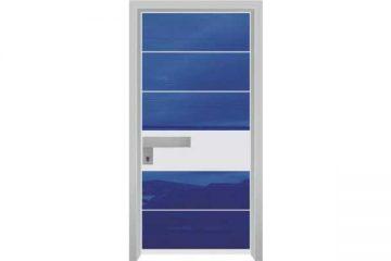 דלת כניסה מעוצבת מסדרת יהלום 1052