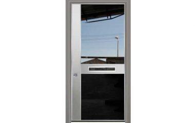 דלת כניסה מעוצבת מסדרת יהלום 1053