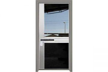 דלת כניסה מעוצבת מסדרת יהלום 1058