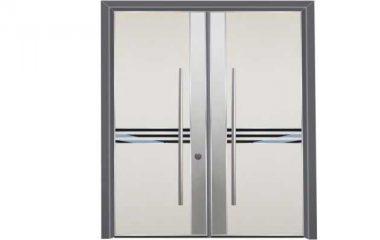 דלת כניסה מעוצבת מסדרת הייטק 1095
