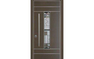 דלת כניסה מעוצבת מסדרת ויטראז' 5505
