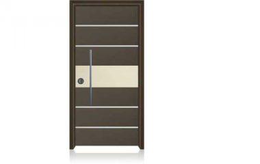 1004 דלת כניסה מעוצבת בסיגנון מודרני