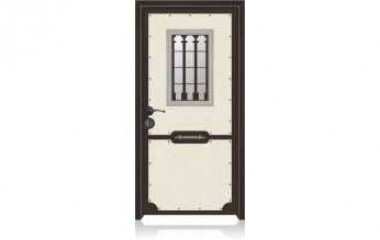 דלת כניסה מעוצבת מסדרת עדן 9003