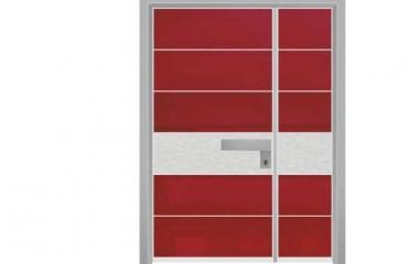 דלת כניסה מעוצבת מסדרת יהלום 1051