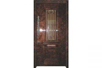 6010 דלת כניסה מעוצבת בסיגנון יווני