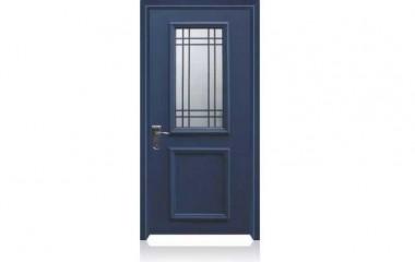 דלת כניסה מעוצבת בסגנון נפחות 8005
