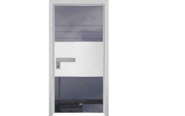 דלת כניסה מעוצבת מסדרת הייטק 1094