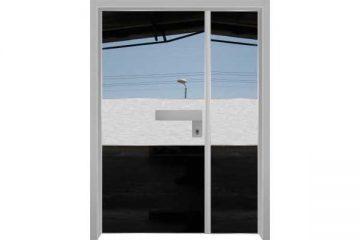 דלת כניסה מעוצבת 1090סדרת הייטק יהלום