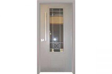 דלת כניסה מעוצבת בסגנון נפחות 2
