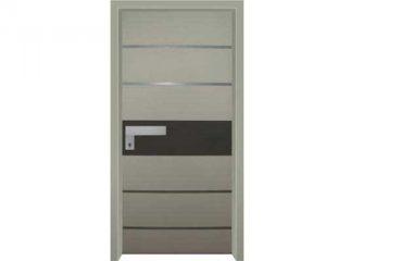 דלת כניסה מעוצבת בסיגנון מודרני 1031