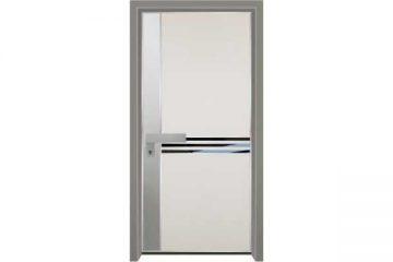 דלת כניסה מעוצבת מסדרת יהלום 1059