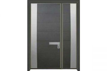 דלת כניסה מעוצבת בסיגנון מודרני 1035